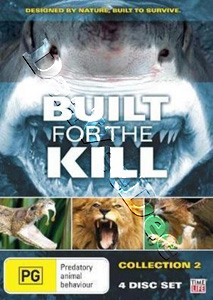 Built for the Kill - Collection 2 - 4-DVD Set (DVD)