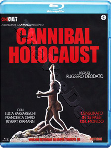 Cannibal Holocaust (1980)  (Blu-Ray)