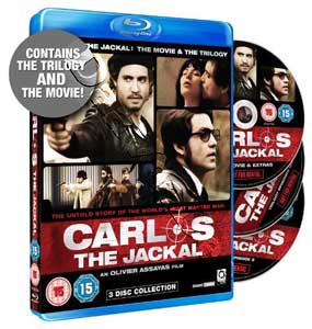 Carlos The Jackal: The Movie & The Trilogy - 3-Disc Set (Blu-Ray)