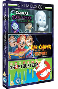 Casper Scare School / Alvin & Chipmunks Meets The Wolfman / Extreme Ghostbusters - 3-DVD Set (DVD)