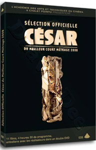 César Awards Best Short Film - Official Selections 2008 - 2-DVD Set (DVD)