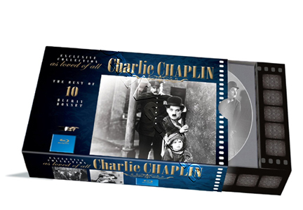 Charles Chaplin Collection - 10-Disc Box Set (Blu-Ray)