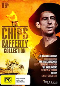 Chips Rafferty Collection - 8-DVD Box Set (DVD)