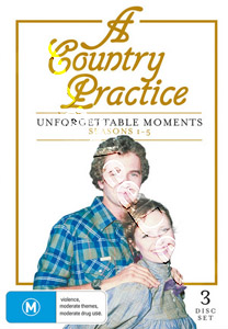 A Country Practice - Unforgettable Moments (Seasons 1-5) - 3-DVD Set (DVD)