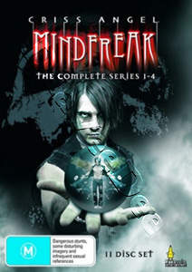 Criss Angel Mindfreak (Complete Seasons 1-4) - 11-DVD Box Set (DVD)