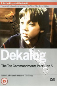 Dekalog: The Ten Commandments (Parts 1 to 5) (DVD)