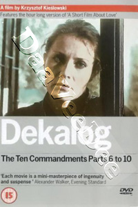 Dekalog: The Ten Commandments (Parts 6 to 10) (DVD)