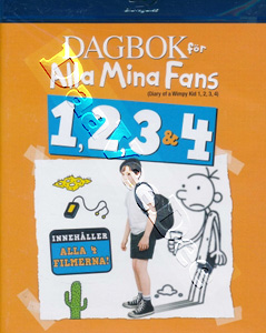 Diary of a Wimpy Kid 1-4 4-Disc Set