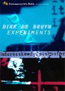 Dirk de Bruyn: Experiments 2-DVD Set
