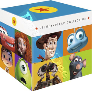 Disney Pixar Collection - 17-Disc Box Set (Blu-Ray)