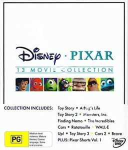 Disney Pixar Collection - 16-DVD Box Set (DVD)