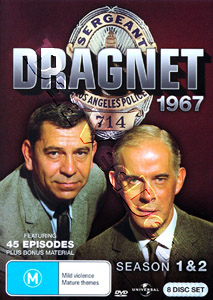 Dragnet 1967 (Seasons 1 & 2) - 8-DVD Box Set