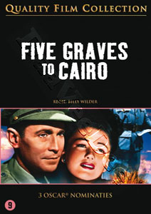 Five Graves to Cairo  (1943)  (DVD)