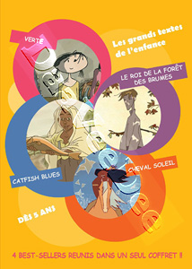French Children Animation - 4 Best-Sellers