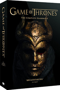Game of Thrones (Complete Seasons 1-5) - 25-DVD Box Set (DVD)