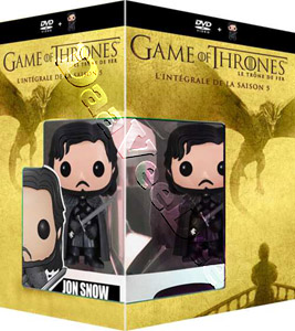 Game of Thrones (Season 5) - 5-DVD Box Set & Jon Snow Vinyl Figure