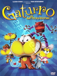 Gaturro - A Cat Superstar (DVD)
