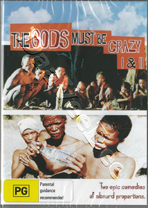 The Gods Must Be Crazy / The Gods Must Be Crazy II - 2-DVD Set (DVD)