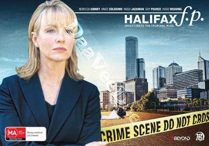 Halifax f.p. Case Files Collection (1-4) - 12-DVD Box Set (DVD)
