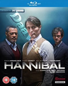 Hannibal (Complete Seasons 1-3) - 12-Disc Box Set (Blu-Ray)