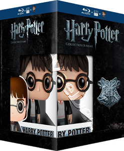 Harry Potter Collection - 8-Disc Box Set & Harry Potter FUNKO Figurine (Blu-Ray)