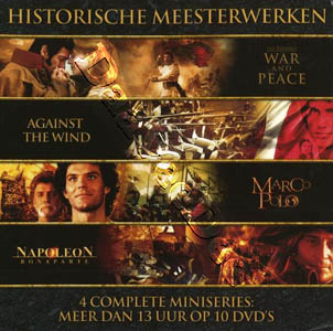 Historical Masterpieces Collection (4 Complete Mini-Series) - 10-DVD Box Set (DVD)