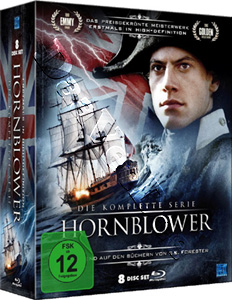 Hornblower  - Complete Series - 8-DVD Box Set (Blu-Ray)