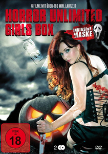 Horror Unlimited Girls Box 2-DVD Set Including a Mask