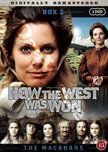 How the West Was Won (Season 2 - Part 1) - 3-DVD Set #2 (DVD)