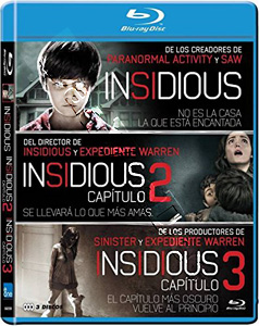 Insidious Collection - 3-Disc Set (Blu-Ray)