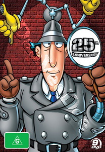 Inspector Gadget Collection (25th Anniversary Edition) - 9-DVD Box Set (DVD)