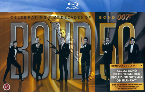 James Bond Collection 23-Disc Box Set
