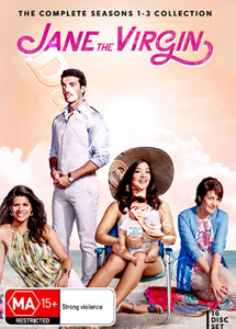 Jane the Virgin Complete Series 1-3 - 16-DVD Boxset