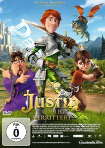 Justin - Völlig verrittert!  ( Justin and the Knights of Valour ) (DVD)
