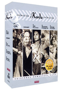 Korda Collection (Vol. 1) - 5-DVD Box Set (DVD)