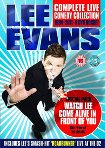 Lee Evans: Complete Live Comedy Collection 1994-2011 - 8-DVD Boxset (DVD)