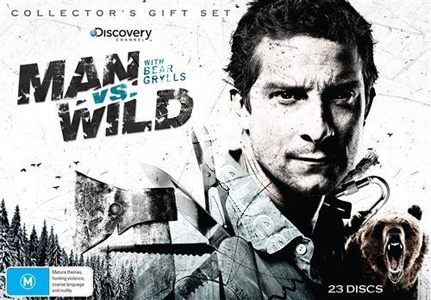 Man vs Wild 23-DVD Collector's Gift Set