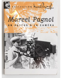 Marcel Pagnol, an author at the camera