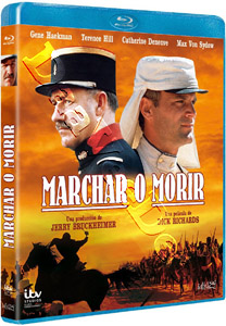 March or Die  ( 1977 ) (Blu-Ray)
