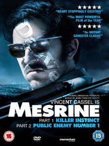 Mesrine: Killer Instinct & Public Enemy Number One - 2-DVD Set (DVD)