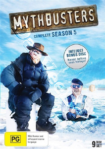 MythBusters Season 5 9-DVD Set