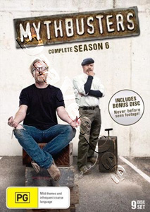 MythBusters Season 6 9-DVD Set