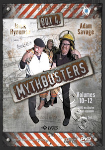 MythBusters Volumes 10-12 4-DVD Set