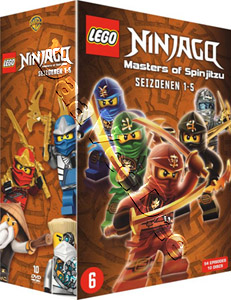Ninjago: Masters of Spinjitzu: Seasons 1-5 10-DVD Boxset (DVD)