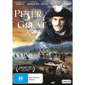 Peter the Great 4-DVD Set