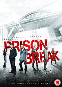 Prison Break (Complete Seasons 1-5) - 25-DVD Box Set (DVD)