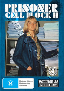 Prisoner: Cell Block H - Vol. 28 (Ep. 433-448) - 4-DVD Set (DVD)