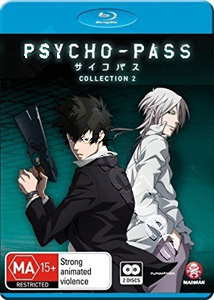 Psycho-Pass-Collection 2 (Blu-Ray)