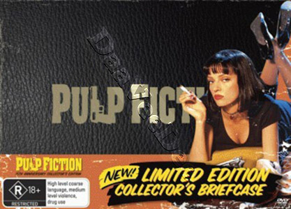 Pulp Fiction Limited Edition Collector's Brieface 2-DVD Set