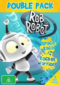 Rob The Robot: Space Race / Rocket Warriors 2-DVD Set